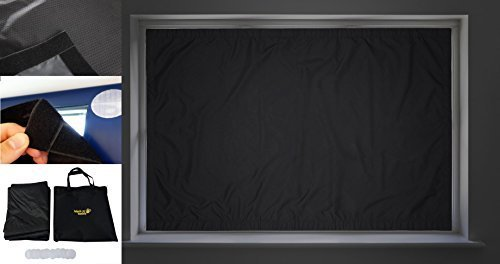 Blackout Buddy - Portable Blackout Blinds Curtain for Home, Nursery & Travel (Large 50'' x 70'')