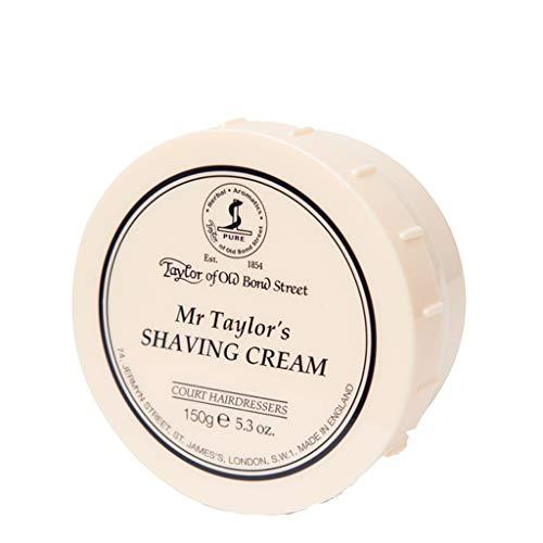 Taylor of Old Bond Street Mr. Taylors Shaving Cream,5.3-Ounce