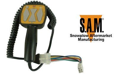 SAM Replacement Snowplow Controller - Replaces Meyer/Diamond OEM Part# 22154 / 22690, Model# 1306901 by SAM