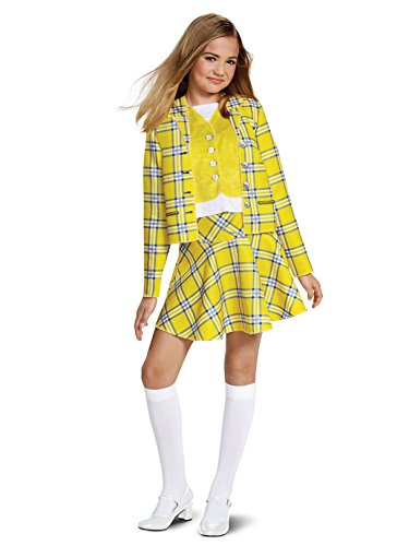 Disguise Cher Suit Classic Child Costume, Yellow, Large/(10-12)]()