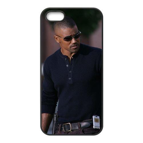 Derek Morgan 001 coque iPhone 4 4S cellulaire cas coque de téléphone cas téléphone cellulaire noir couvercle EEEXLKNBC24534