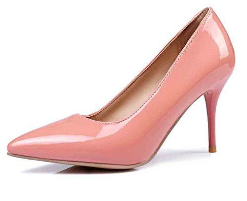 Scarpe Da Donna Eleganti Easemax Con Punta A Punta E Tacco Alto Con Tacco A Spillo Scarpe Rosa