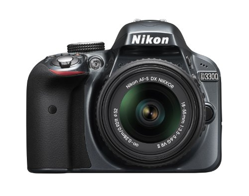 Nikon D3300 24.2 MP CMOS Digital SLR with AF-S DX NIKKOR 18-