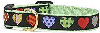 product image for Up Country Valentine and Hearts Colorful Hearts Pattern Dog Collars and Leashes