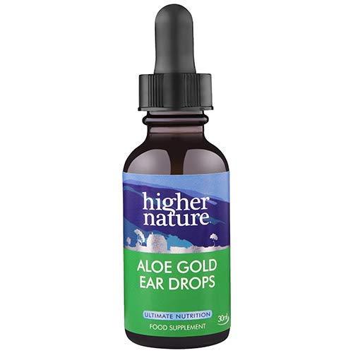 Higher Nature Aloe Gold Ear Drops 30ml ()