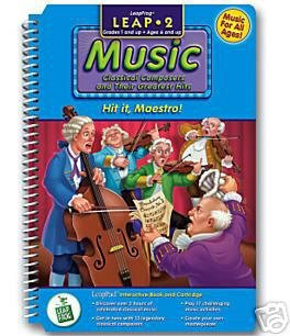 Hit It, Maestro! 2nd Grade Music, Interactive Book & Cartridge, LeapFrog, LeapPad, Leap Frog, Leap Pad (LeapPad). BOOK and CARTRIDGE that are only for the Original Leappad learning system, not compatible with the Leappad Explorer Tablet.