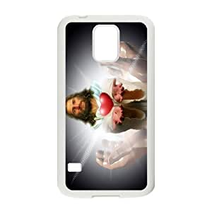 -ChenDong PHONE CASE- For Samsung Galaxy S5 -Jesus Christ In Our Heart-UNIQUE-DESIGH 12