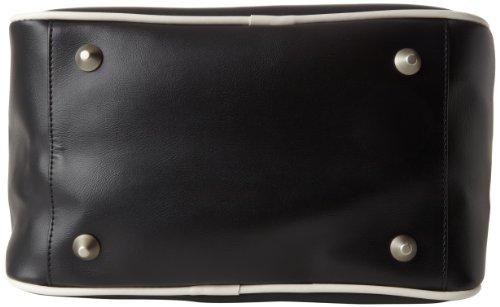 Pan Am Mini Explorer - 100% Polyurethane Mini Tote Hombres Bolsas Negro
