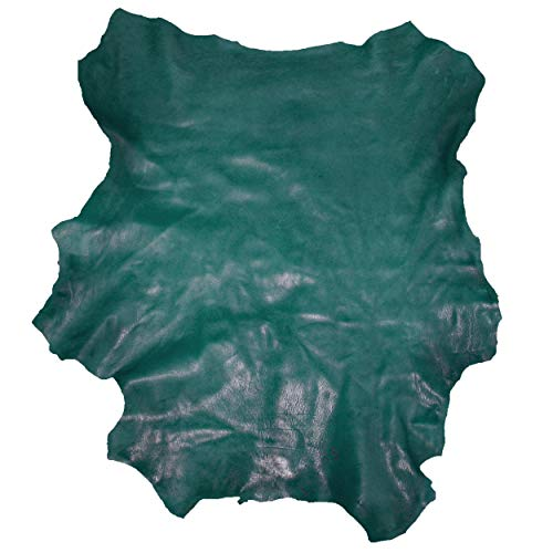 Glacier Wear Select Italian Lambskin Leather (5.00 to 5.75 sq ft) - Teal
