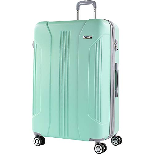 American Green Travel Denali 30 Inch Expandable Hardside Checked Spinner Luggage