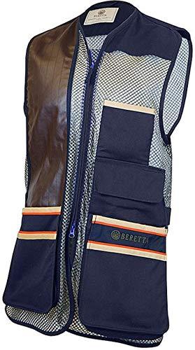 Beretta Men's US Two Tone Shooting Vest - Medium - Total Eclipse Blue
