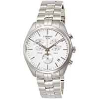 Tissot Men's 'PR 100' Quartz Stainless Steel Casual Watch, Color:Silver-Toned (Model: T1014171103100)