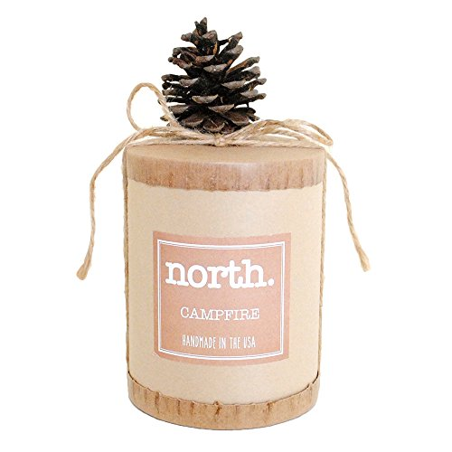 (The South Candle - North - Campfire 14oz All Natural Soy Candle)