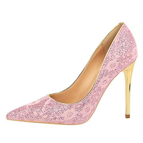 5 Rose Sandales BalaMasa 36 Femme Compensées Rose APL10714 fw0xxvqpT