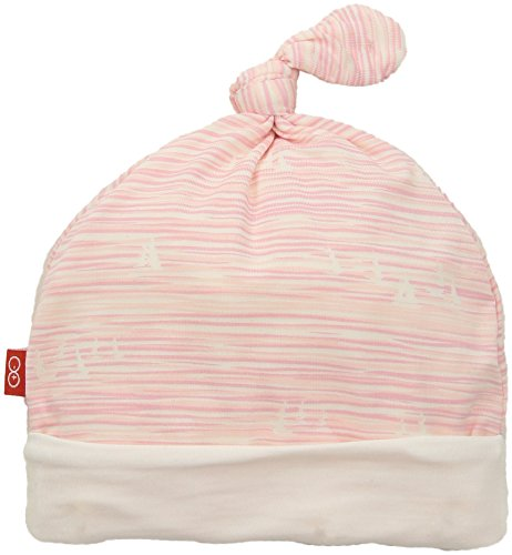 Pink Sailboat - Magnificent Baby Baby Infant Modal Hat, Seeing Sailboats Pink, NB-3M