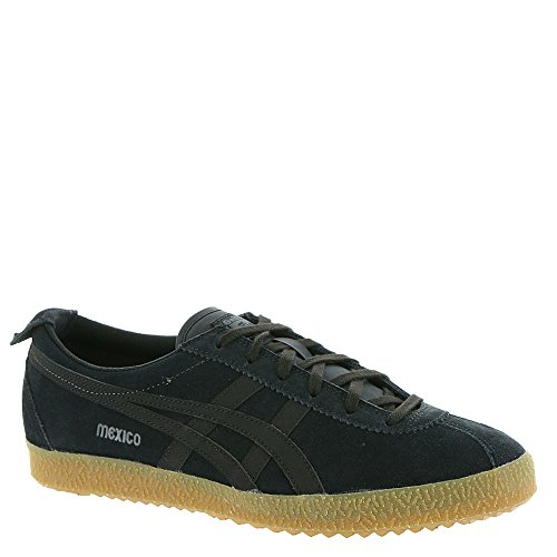 Onitsuka Tiger Mens Mexico Delegation Fashion Sneaker Nero / Grigio Scuro