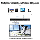 Giokfine 2x2 Video Wall Controller, 1080P@60HZ HD