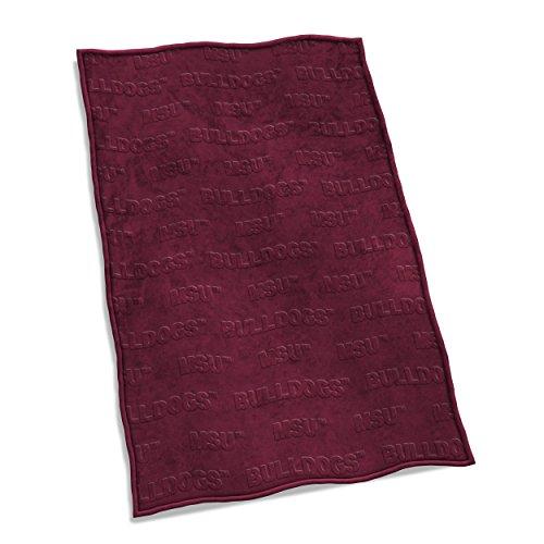 Logo Brands NCAA Mississippi State Bulldogs Velvet Plush Throw Blanket