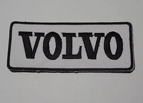 Patch Volvo Logo Embroidery Iron on Applique Patch 8/cm x 4.5/Replica