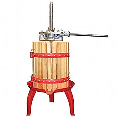 Roma Fruit & Wine Press, 36 inches tall x 21.5 inches diameter by Weston
