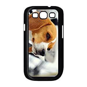 Diy Cute Dog Beagles Phone Case for samsung galaxy s3 Black Shell Phone JFLIFE(TM) [Pattern-1]