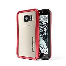 Ghostek Note 5 Waterproof Case, Atomic 2.0 Series for Samsung Galaxy Note 5, Full-Body Underwater/Waterproof/Shockproof/Dirt-proof/Snow-proof/Slim Premium Armor Case/Aluminum Frame – Red