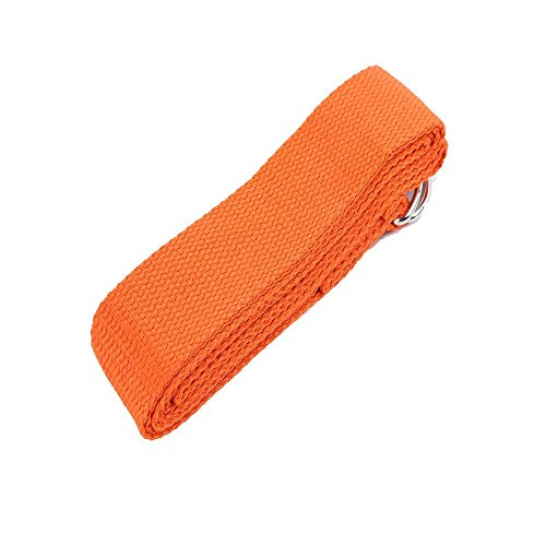 Yoga Strap 100 Cotton Chromed Rings 1 5 Quot X 8 Yoga
