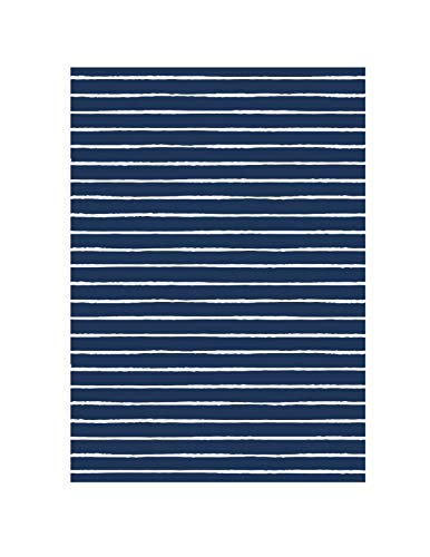 Beomes All Weather & UV Resistant Indoor/Outdoor Rug, Tahiti-Blue, 5' x 7'