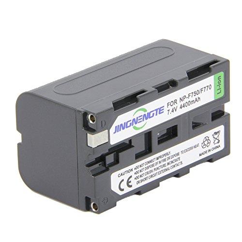 JINGNENGTE Digital Video Camera Camcorder Batteries 7.4V 4400mAh For Sony Handcam NP-F750 NP-F770 NP-F550 NP-F570 NP-F970 CCD-TRV16, CCD-TRV201, TRV215, TRV110, TRV120, HXR-NX5U, AX2000, HDR-FX1000 by JINGNENGTE