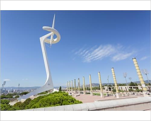 photographic-print-of-torre-calatrava-torre-telefonica-barcelona-catalonia-spain-europe