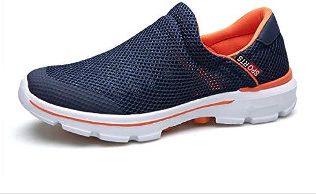 YZWD Zapatillas De Padel Para Correr Transpirables Sneakers Zapatos Netos Zapatos Casuales Para Hombres Zapatos Transpirables Cómodos De Fondo Suave 7 A: Amazon.es: Zapatos y complementos
