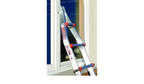 Escalera de punta para refrigeración escalera telescópica: Amazon.es: Hogar