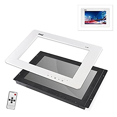 Pyle 9'' Video Monitor Panel Display Screen, Full HD 1080p Support, HDMI/RCA/VGA Connectors (Universal Mount: In-Wall / In-Vehicle Custom Installation)