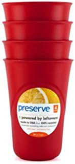 product image for Preserve Cups 4ct Red