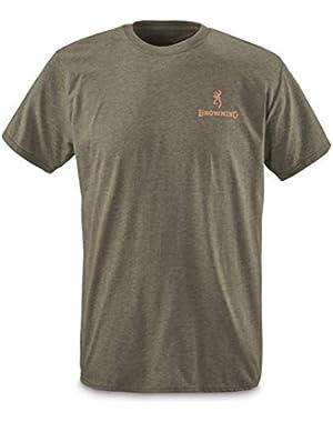 Men's Buckmark Camo Fill Short Sleeve T Shirt