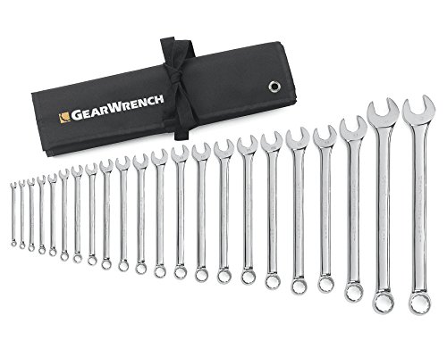 GearWrench 81916 22 Piece Metric Combination Wrench -