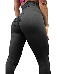 Women Scrunch Butt Yoga Pants Leggings High Waist...