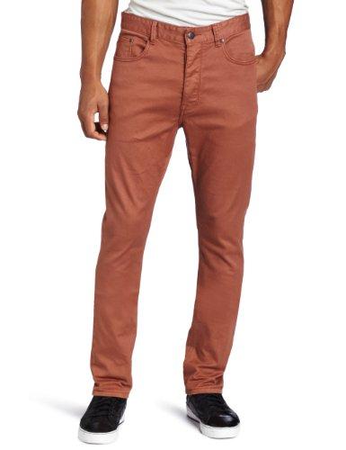Zanerobe Men's Skinny Jean in Terracotta, Terracotta, 32