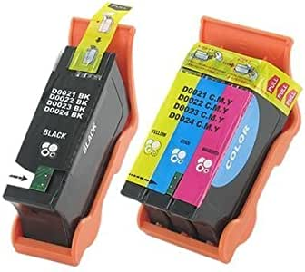 592-11327/_3PK//592-11330/_1PKMP Series 22 SuppliesMAX Compatible Replacement for Dell P513//V313//V313W Inkjet Combo Pack 3-Black//1-Color