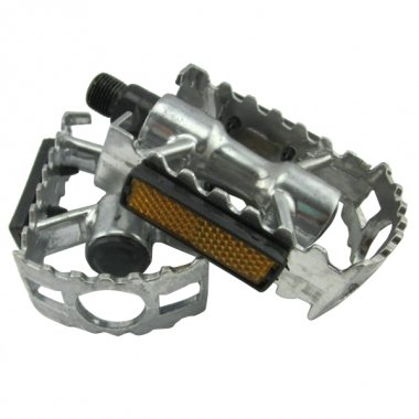 Aluminum Alloy Anti-skidding Bicycle Mountain Bike Pedals - Black