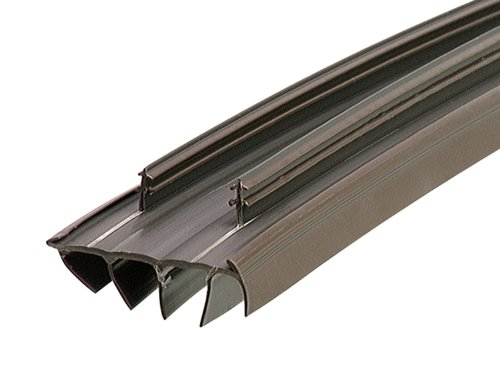 M-D Building Products 67967 35-3/4-Inch Kerf Style Replacement Door Bottom with Vinyl Fins, Brown (Kerf Strip)