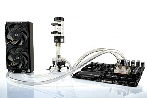 Water System Cooling External - EKWB X240 Complete Dual 120mm Liquid Cooling Kit (EK-KIT X240)