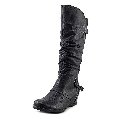 Bare Traps Womens Quivina Closed Toe Mid-Calf Fashion Boots, Black, Size 11.0