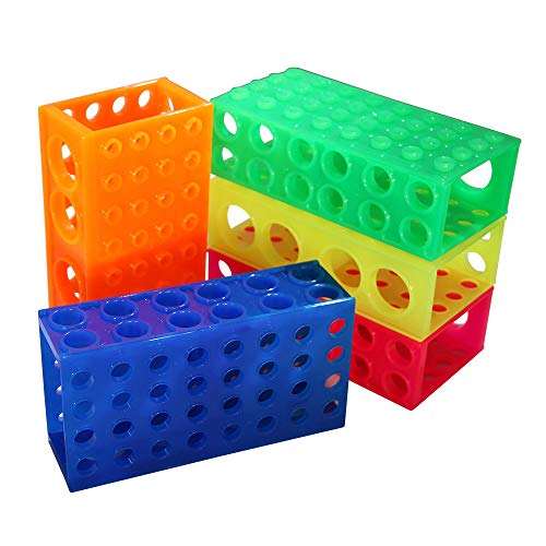 4-Way Flipper Rack, Assorted Colors, 5 Racks/Unit