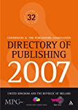 Directory of Publishing 2007 : United Kingdom and the Republic of Ireland, Continuum, 0826492932
