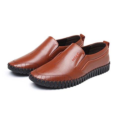 LEDLFIE Chaussures D'été Respirant pour Hommes Casual Cutouts Feet Sandales Brown XXfjzuDA