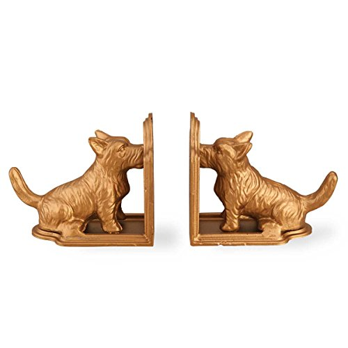 Foreside Scottie Book Ends (Set of -