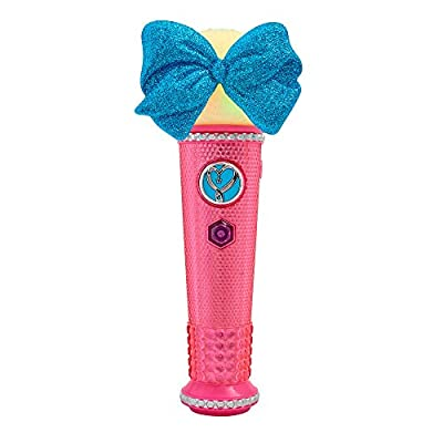 JoJo Siwa 51115 Just Play Light Up Microphone, Pink: Toys & Games