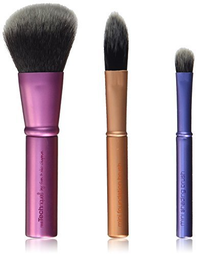 Real Techniques Mini Brush Trio by Real Techniques