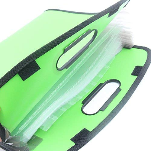 GADGETS WRAP Paper Holder Envelop for A4 Sheets Bills Documents Easy Grip Handle Carry Case